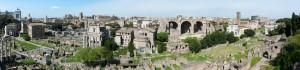 Rom Forum Romanum 2008 Panorama